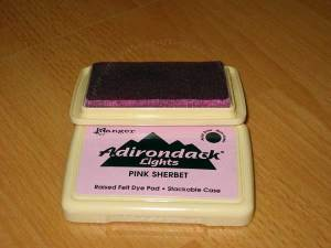 Open box of Adirondack Ink By Ranger