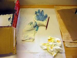 Gloves & paper