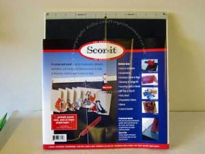 Scor It Board with packaging