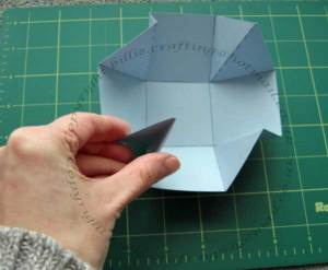 Folding in the corners