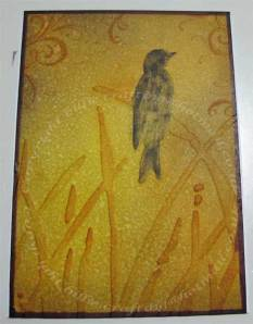 My ATC for January 2009