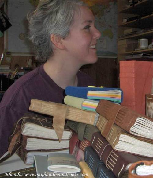 Rhonda; www.myhandboundbooks.com