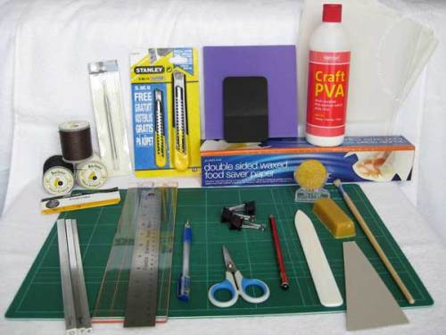 My Essential Bookbinding Kit