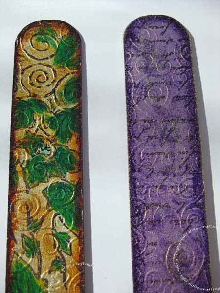 Grungeboard Bracelets.