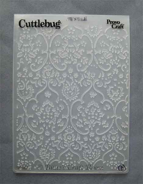 Cuttlebug Embossing Folder