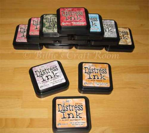 Tim Holtz; Distress Inks