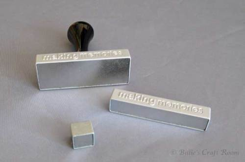 Handle Set for Making Memories Magnetic Stamps