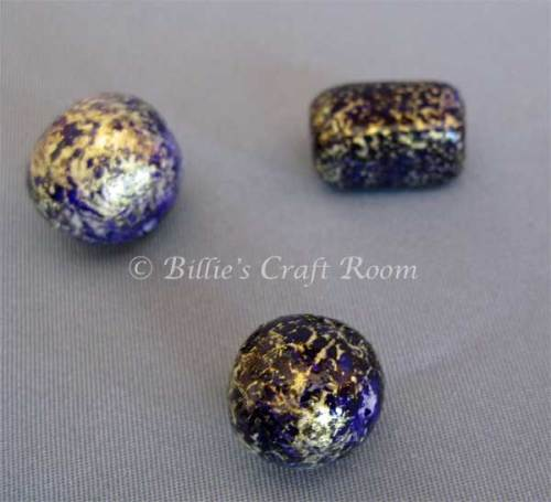 Polymer Beads, textured finish