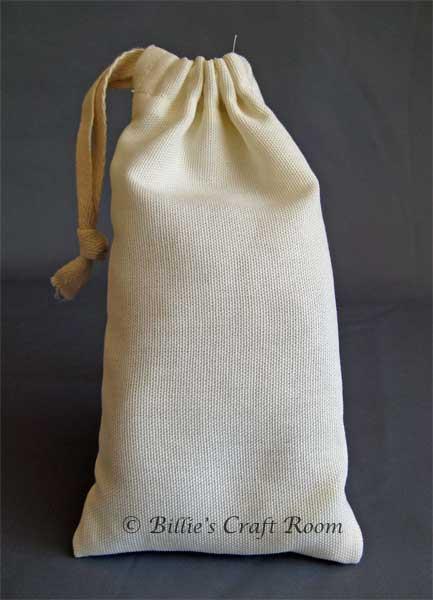 My First Draw String Bag