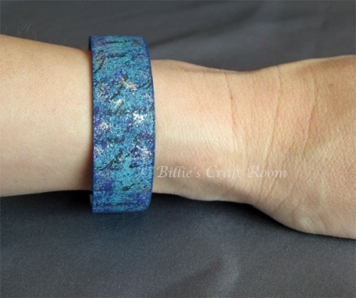 Blue Grungebord Bracelet