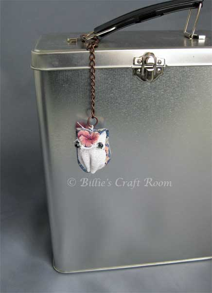 Little Owl Keyring