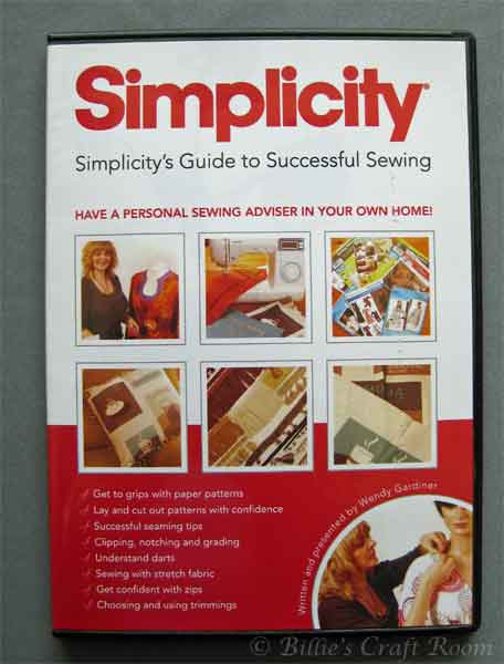Simplicity's Guide to Sewing DVD