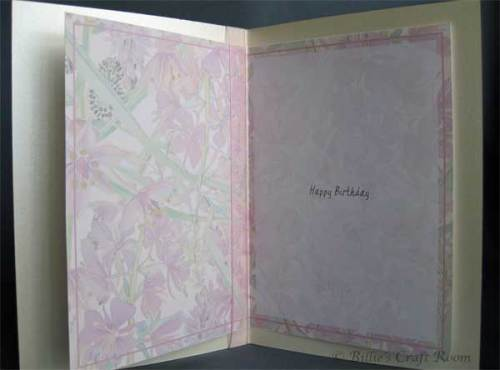 Country Diary of an Edwardian Lady; Birthday Card, insert