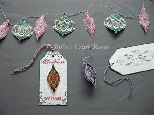 Projects created from; Anna Griffin Clear Stamps; Christmas set 2010 & Flourishes