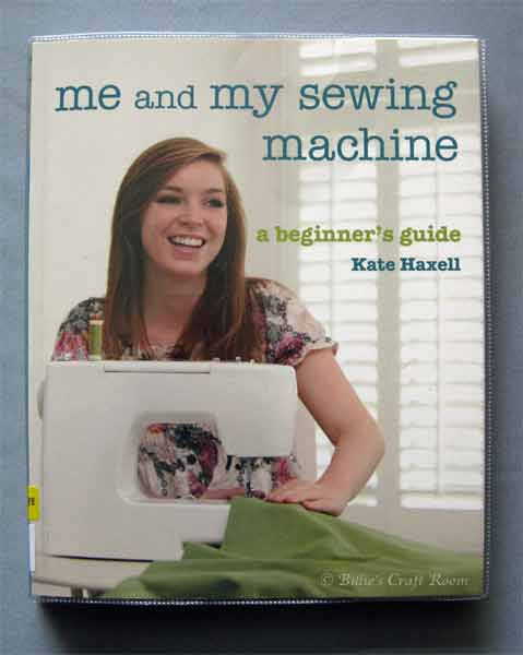 Me and my sewing Machine - Book by Kate Haxell