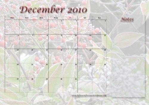 Calendar-December-2010