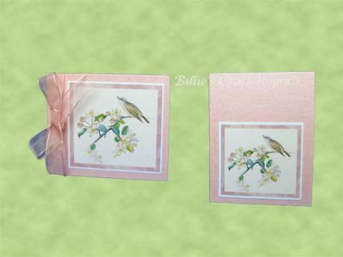 Greeting Card & Gift Tag - Desktop calendar Gift Set