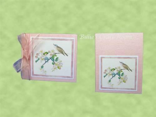 Greeting Card & Gift Tag - Desktop calendar Gift Set