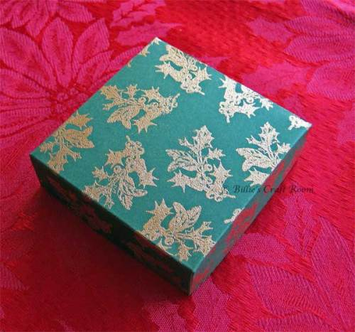 Advent Calendar 2010; Box to store additional pages/treats