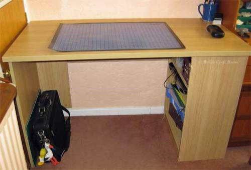 My New desk 2011. Tidy