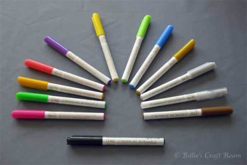 Wink of Stella Pens by Zig