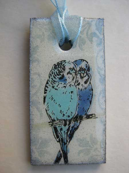 Budgie hugs necklace