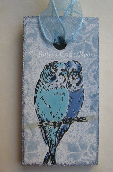 Budgie Love necklace