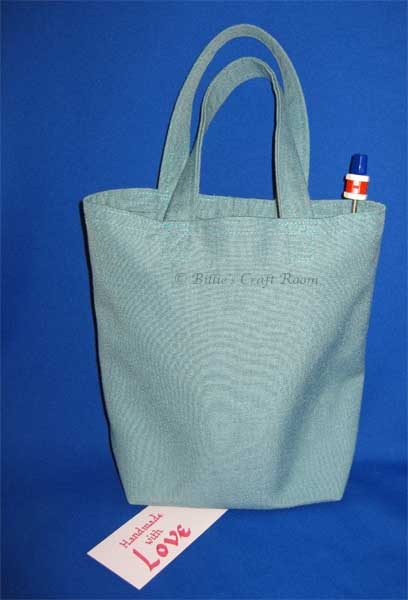 New tote bag for knitting kit