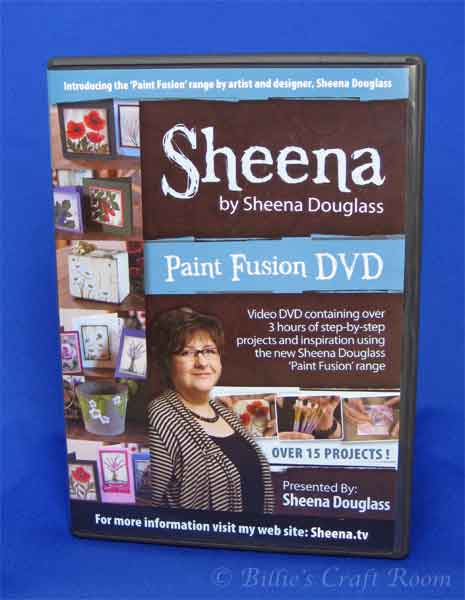 Sheena Douglass; Paint Fusion DVD