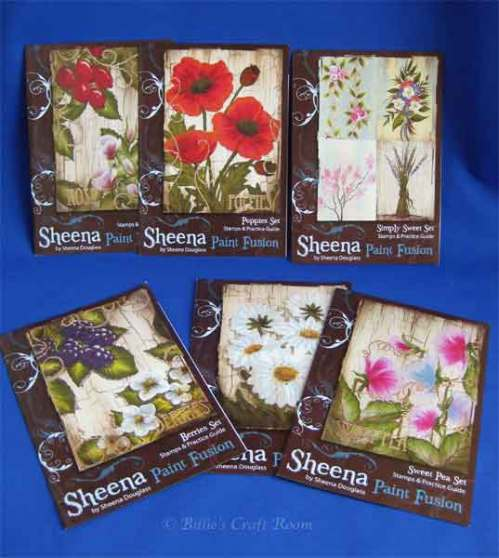 Sheena Douglass; Paint Fusion Stamps