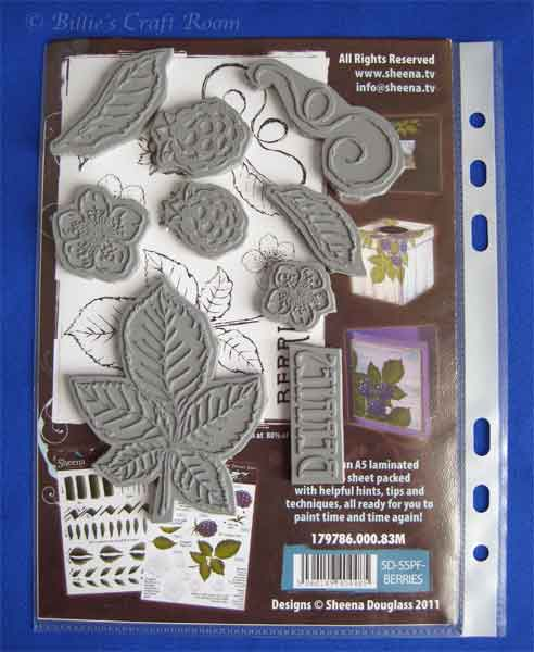 Easy storage for Sheena's Paint Fusion stamps