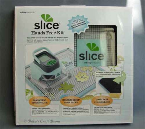 "Making Memories Slice Hands Free Kit with 12"" x 12"" Glass Mat"