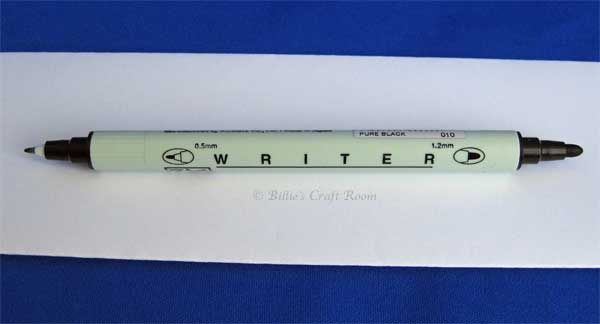 Review Of Zig Writer Pens Billie S Craft Room