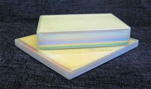 Plastic Box for storing Paper & Card