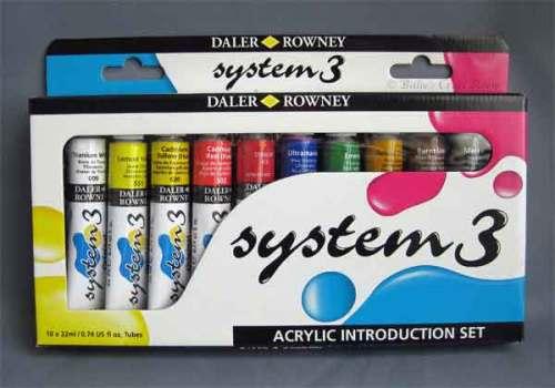Daler Rowney System 3 Acrylic Paints 'Original'