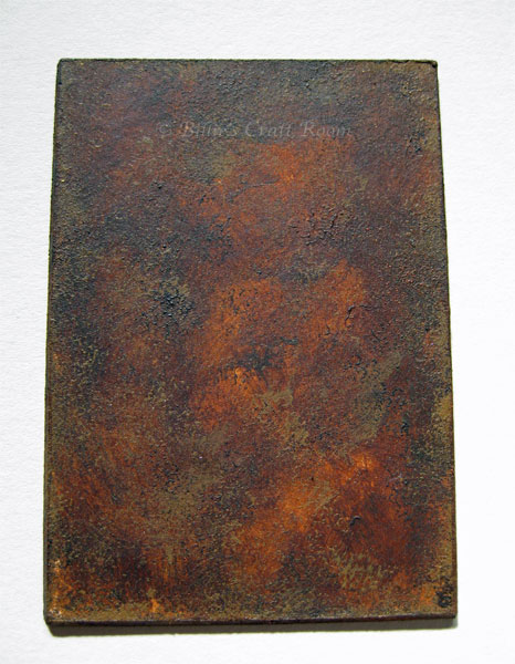 Dark Rust painting