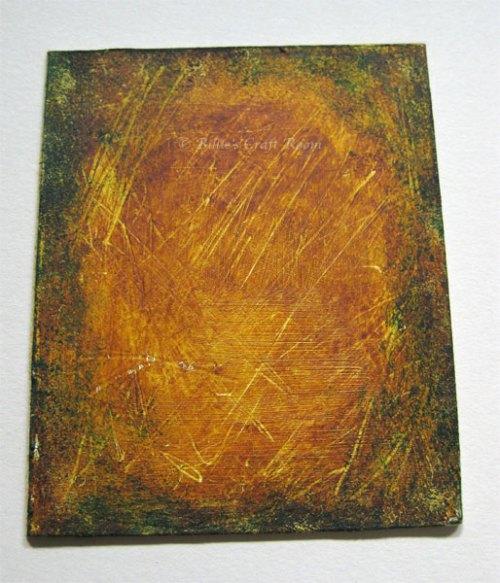 Aged Gold Art