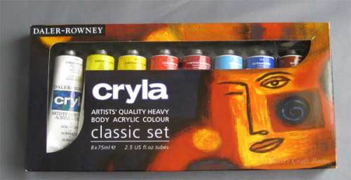 Daler Rowney Paint set