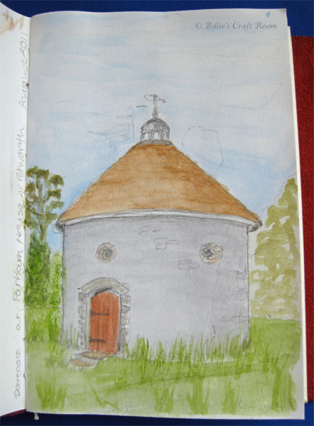 Sketch of Dovecote at Parham House