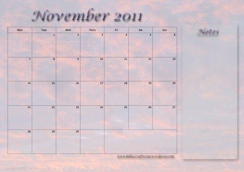 Calendar-November-2011