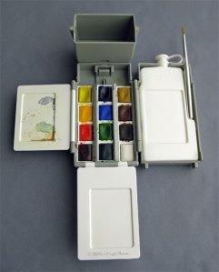 Winsor & Newton Field Box (in use)