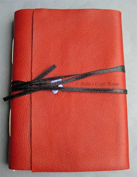 My handbound Travelling sketchbook