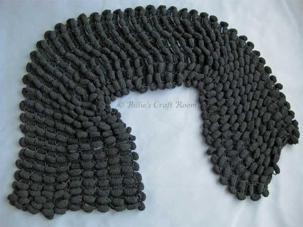 Knitting Pattern For Scarf With Pom Pom Wool : Pom Pom Scarf Billies Craft Room