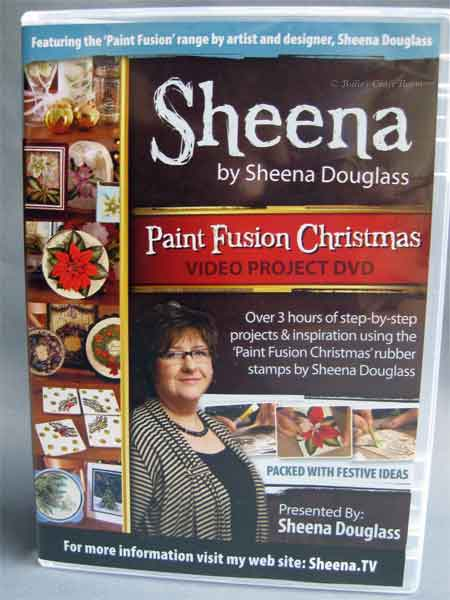 Paint Fusion Christmas DVD by Sheena Douglass