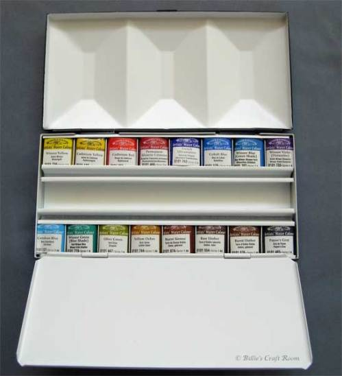 Winsor & Newton Enamelled Box