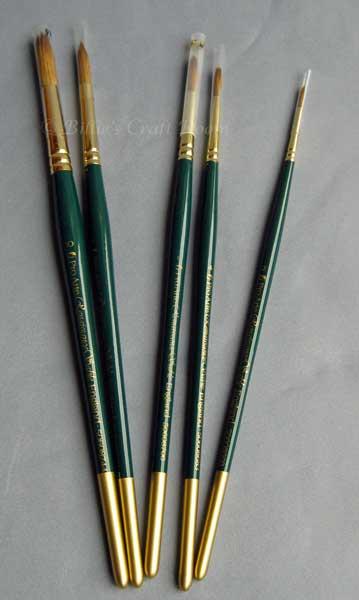Pro Arte; Renaissance Sable Brushes