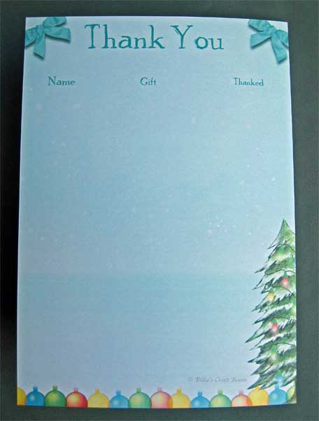 Christmas List 2011. Back Cover
