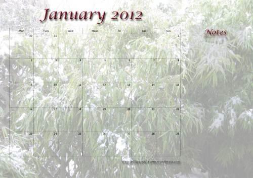 Calendar-January-2012