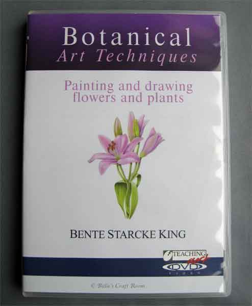 Teaching Art: Botanical Art Techniques with Bente King