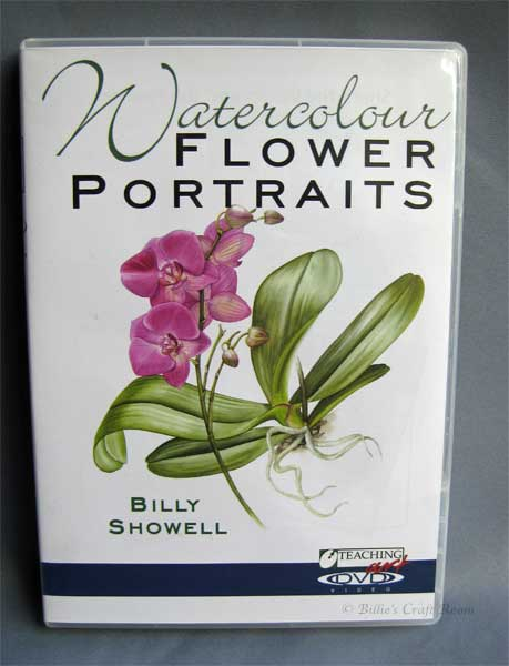 Watercolour Flower Portraits DVD